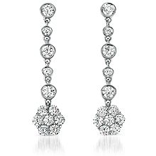 Diamondideals Sag Award Jewelry Trend Diamond Drop Earrings