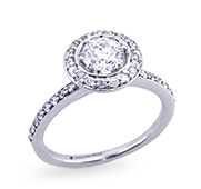 Engagement Rings: Halo