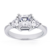 Engagement Rings: Side Stone
