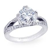 Engagement Rings: Split Shanks